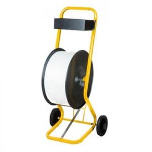 wózek na taśme spinającą